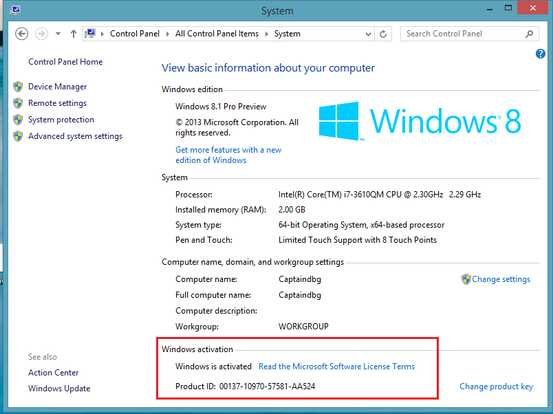 How to activate windows 8 8.1 without product key free