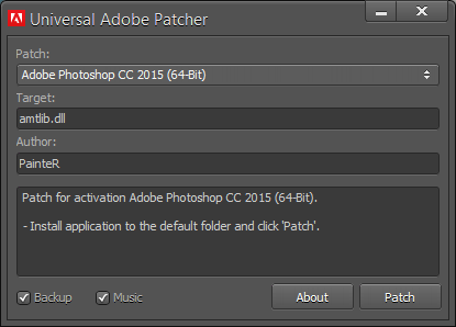 Universal Adobe Patcher v.2.0 Download 2019